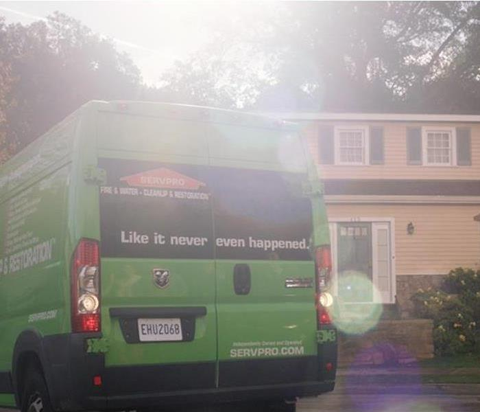 Professionals from SERVPRO respond to a loss.